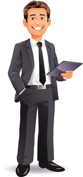 Man in suit standing clipart graphic black and white library Male Standing Cliparts - Cliparts Zone graphic black and white library