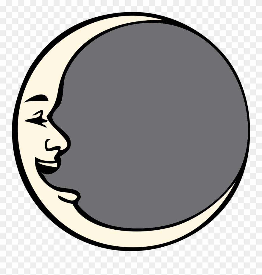 Man in the moon clipart jpg freeuse Aerospace - Clipart - Man In The Moon Cartoon - Png Download ... jpg freeuse