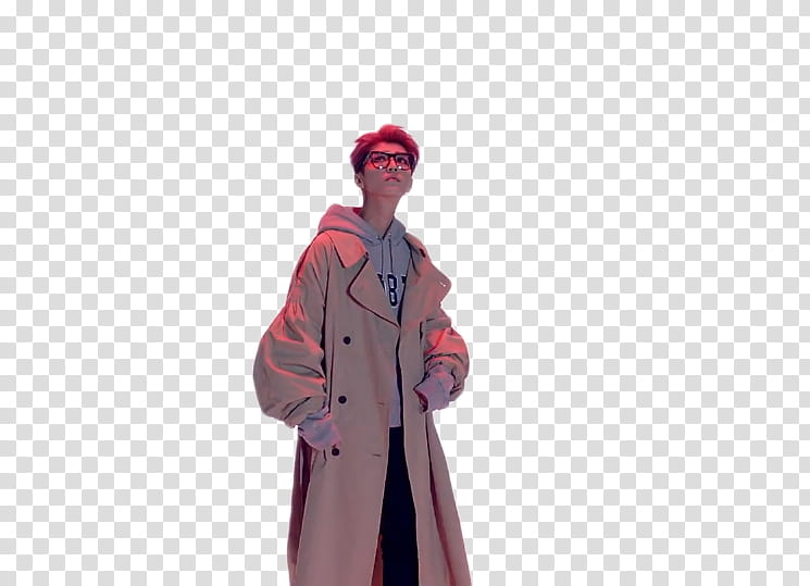 Man in trench coat from the back clipart jpg free library Luhan Roleplay, man wearing trench coat standing while posing ... jpg free library