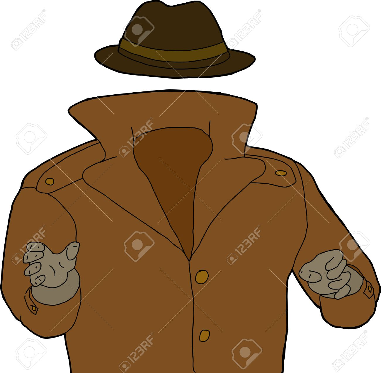 Man in trench coat from the back clipart clip art transparent library Collection of Trench clipart | Free download best Trench clipart on ... clip art transparent library