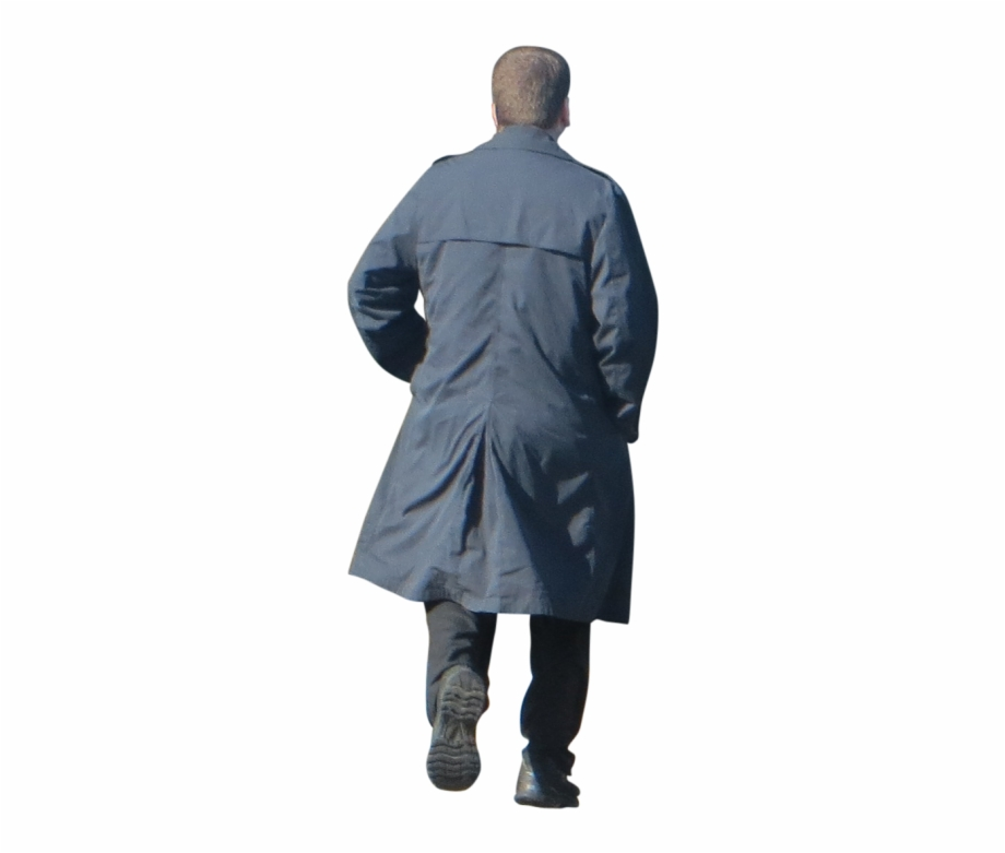 Man in trench coat from the back clipart clipart free download Human Back View Png Man Walking Away Png - Clip Art Library clipart free download