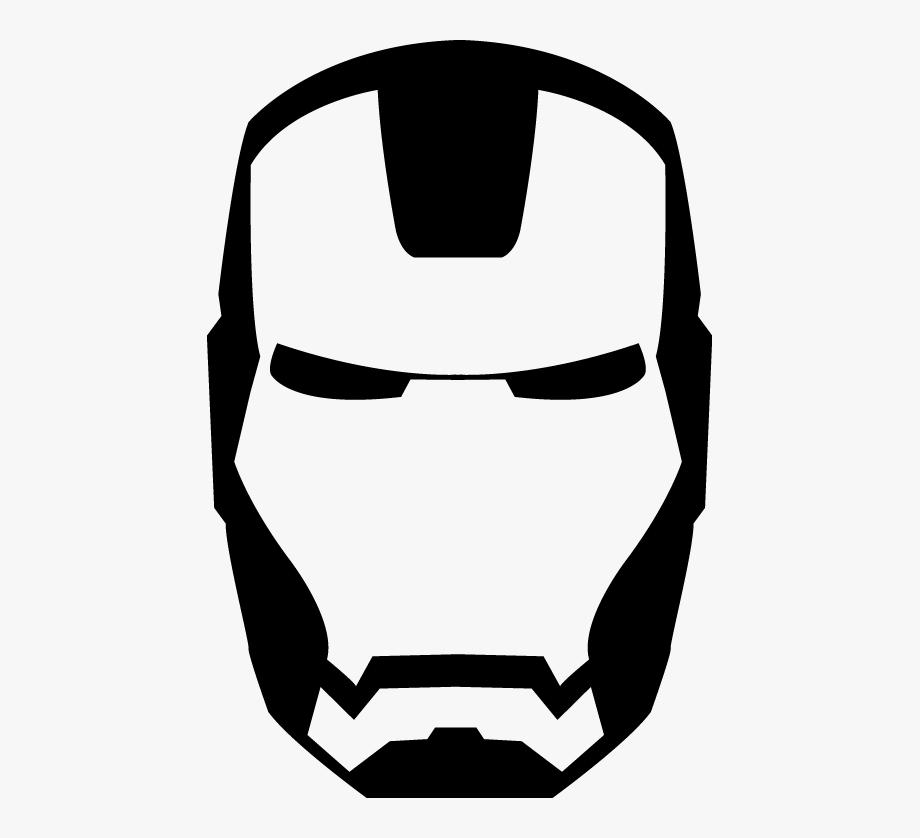 Man logo clipart vector library stock Iron Man Clipart Black - Logo Iron Man Y Marvel #1170111 - Free ... vector library stock