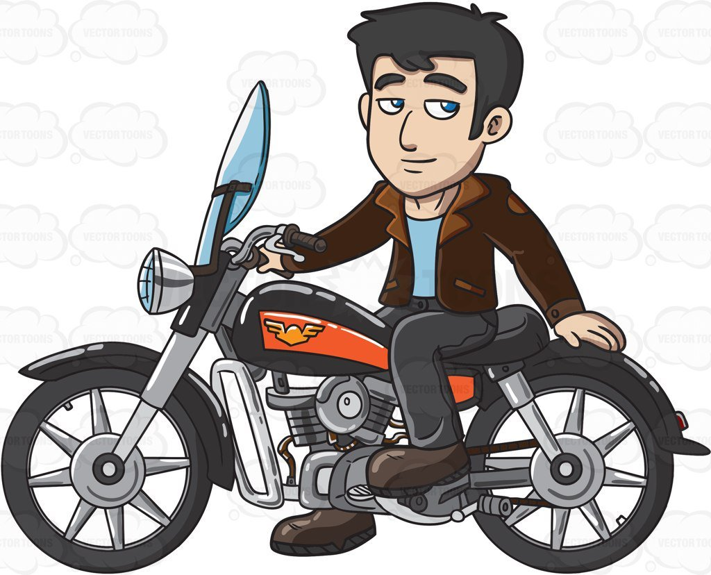 Man on motorcycle clipart graphic library library Man on motorcycle clipart 3 » Clipart Portal graphic library library
