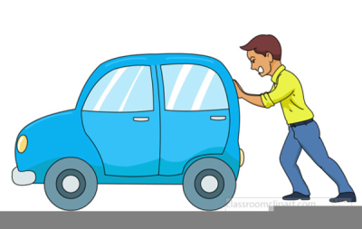 Man pushing clipart png black and white download Clipart Man Pushing Bus PNG - DLPNG.com png black and white download