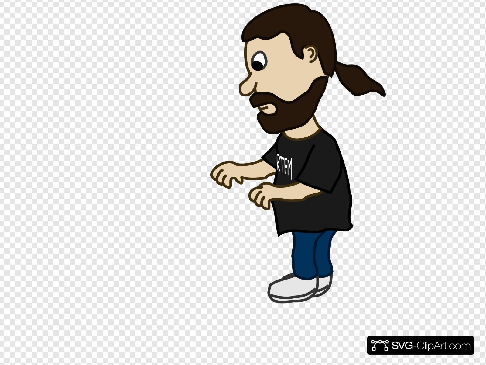 Man pushing clipart image transparent download Man Pushing Clip art, Icon and SVG - SVG Clipart image transparent download