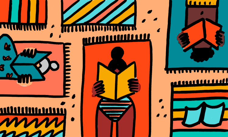 Man reading a book covering his face clipart clipart transparent stock 88 books to enjoy this summer: the TED reading list | clipart transparent stock