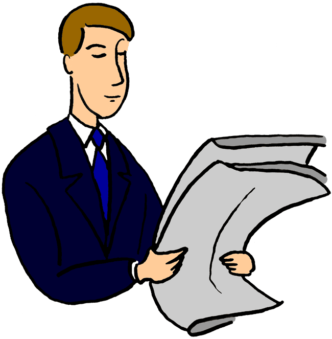 Man reading book clipart clipart download 28+ Collection of People Reading Newspaper Clipart | High quality ... clipart download