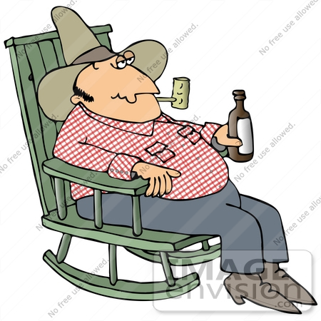 Man sitting in a rocker free clipart clipart freeuse library Rocking Chair Clipart   Free download best Rocking Chair Clipart on ... clipart freeuse library