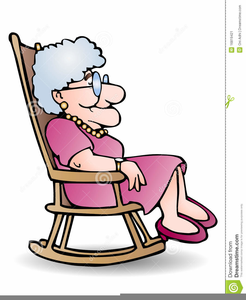 Man sitting in a rocker free clipart png transparent library Clipart Grandmother Rocking Chair   Free Images at Clker.com ... png transparent library