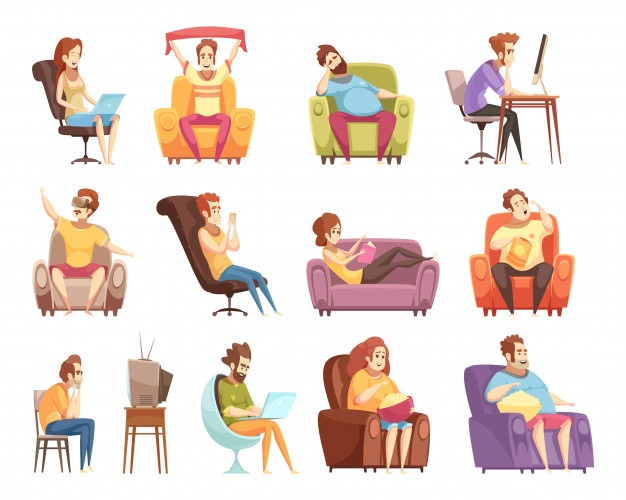 Man sitting in chair facing left clipart clip art library stock Sitting Vectors, Photos and PSD files | Free Download clip art library stock