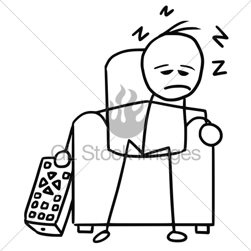 Man sleeping on chair clipart black and white graphic free library Cartoon Pictures Of People Sleeping | Free download best Cartoon ... graphic free library