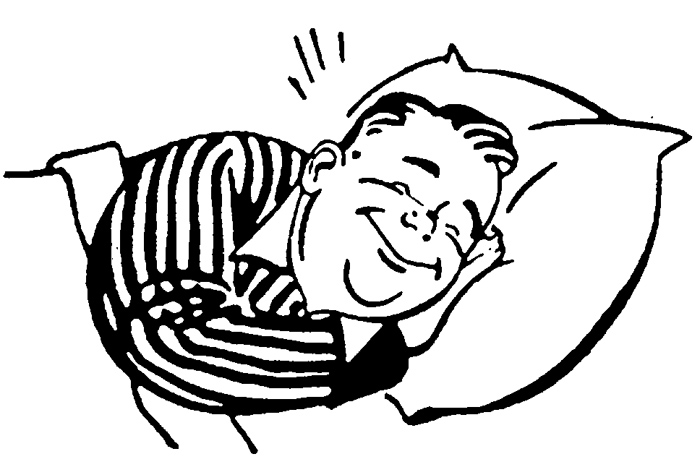 Sleep black and white clipart clipart freeuse library Cartoon Pictures Of People Sleeping | Free download best Cartoon ... clipart freeuse library