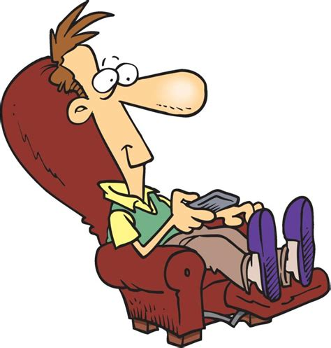 Man sleeping on recliner clipart black and white picture free library Clipart Of A Cartoon Shirtless Chubby White Man Sleeping, Cartoon ... picture free library