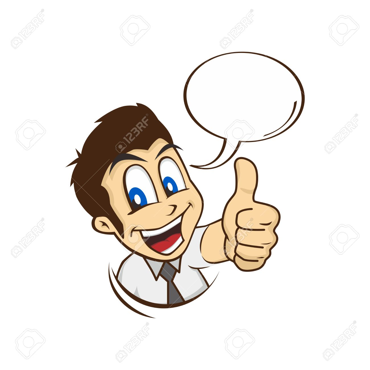 Man thumbs up clipart picture stock Cartoon Guy Thumbs Up Character Vector Illustration Royalty Free ... picture stock