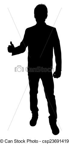 Man thumbs up clipart clipart transparent download Vector Clip Art of Man Showing Thumbs Up Shape - Young Boy Showing ... clipart transparent download