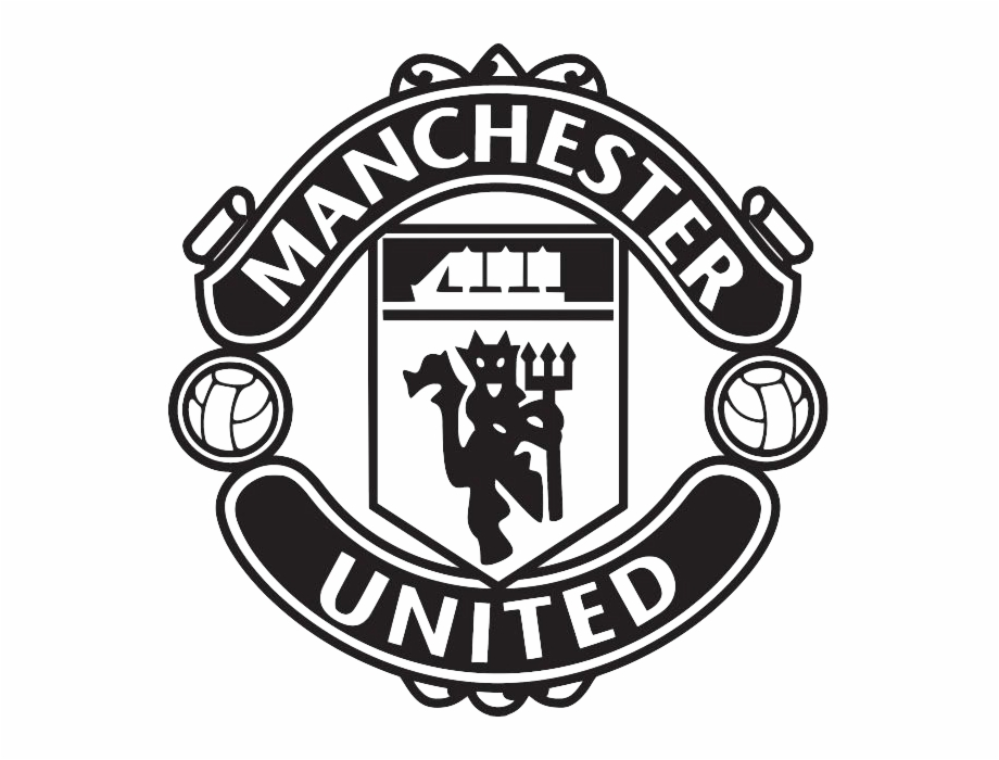 Manchester united logo clipart svg black and white library Manchester United Black Logo Free PNG Images & Clipart Download ... svg black and white library