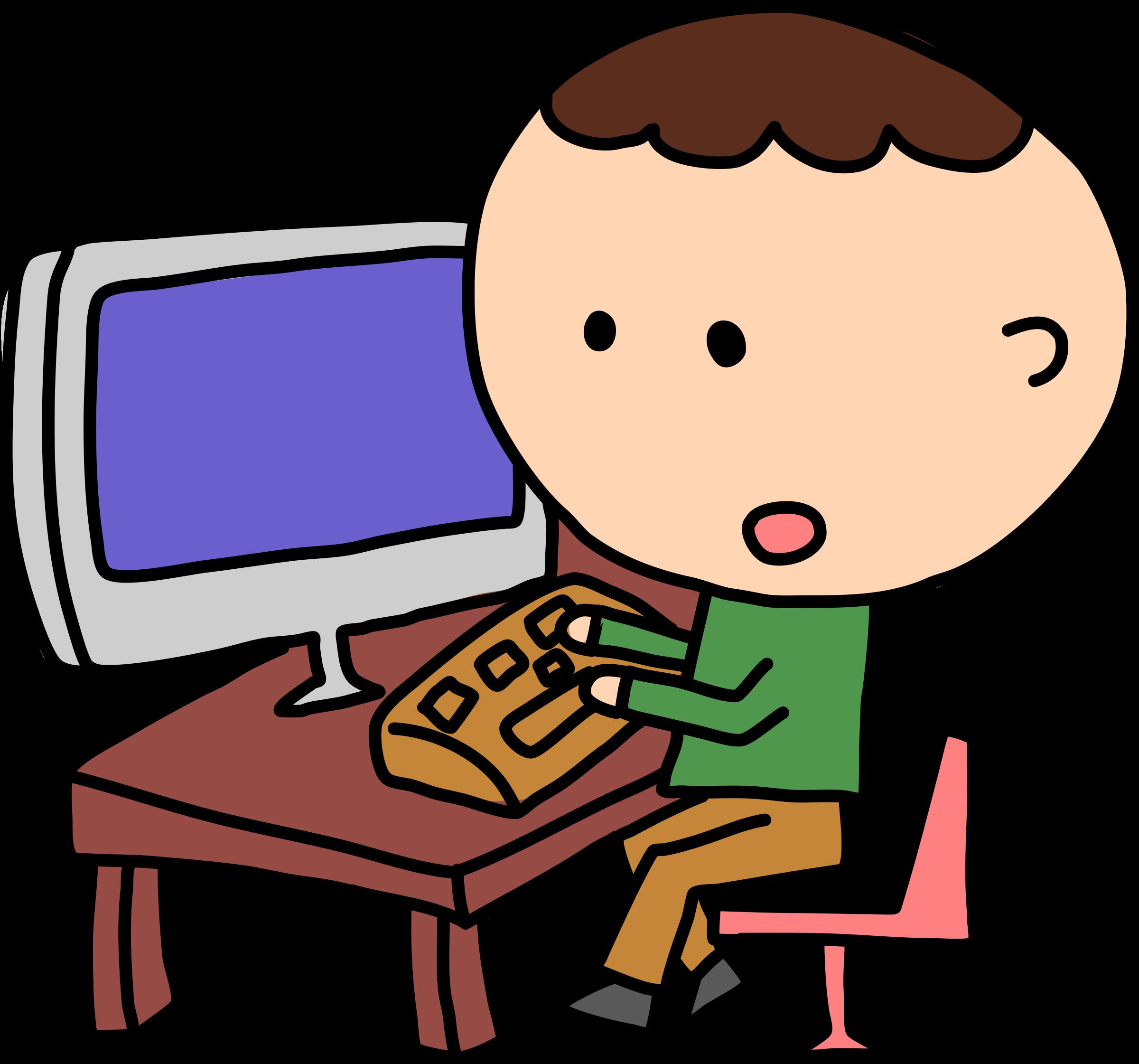 Man vs computer clipart download Man and computer clipart - ClipartFest download