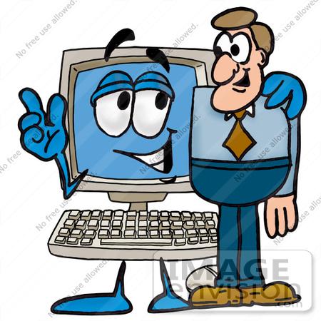 Man vs computer clipart clip library download Man vs computer clipart - ClipartFest clip library download
