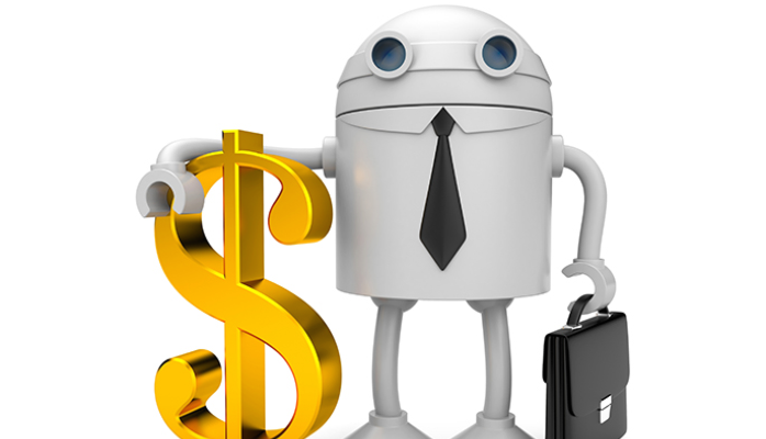 Man vs machine clipart jpg stock Man vs. Machine: Rise of the Robo Advisor | JR Robinson | Pulse ... jpg stock