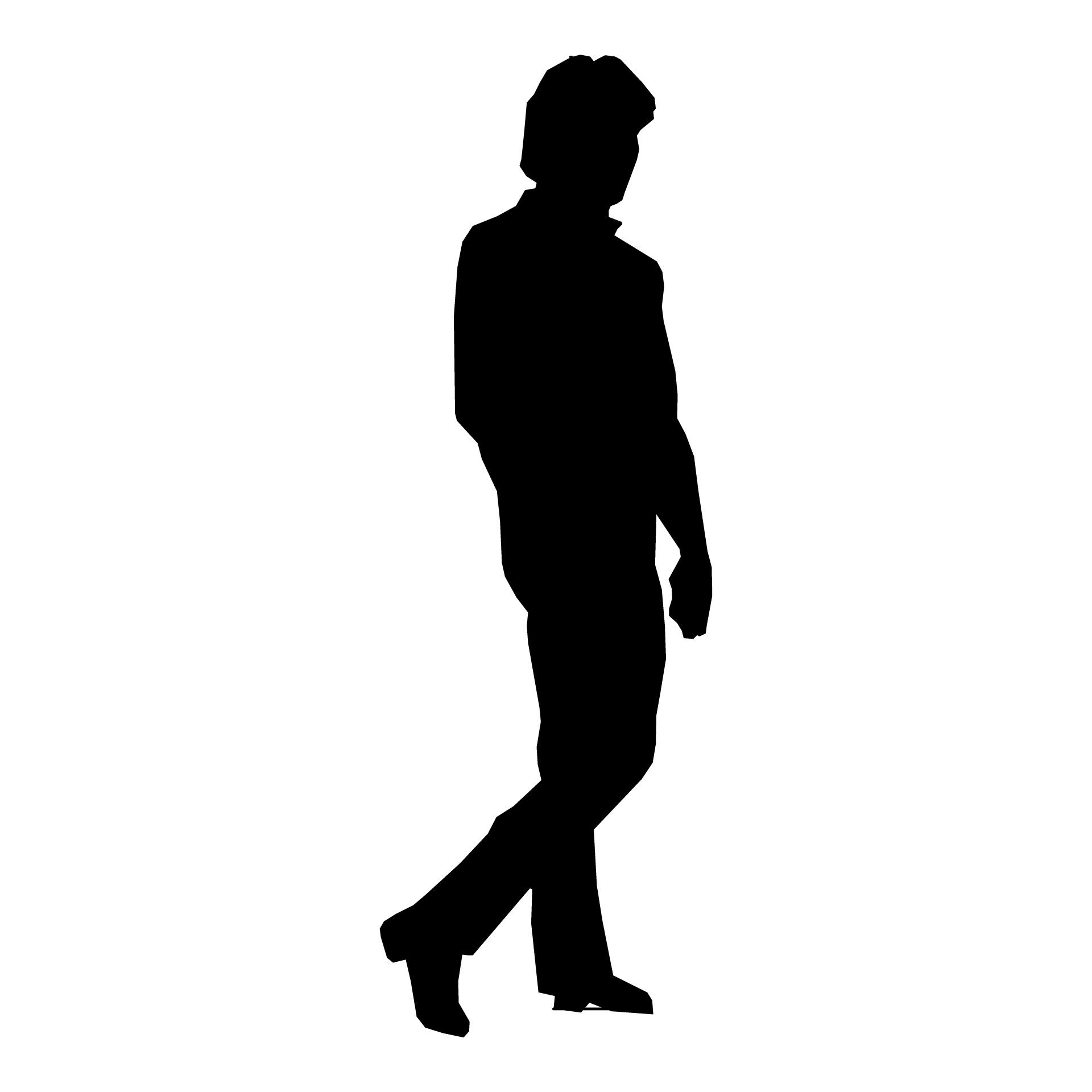 Man walking silhouette clipart clipart freeuse stock Silhouette Man Walking   C O A in 2019   Silhouette clip art ... clipart freeuse stock