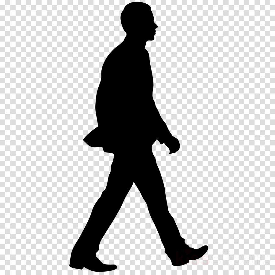 Man walking silhouette clipart banner free stock Man Cartoon clipart - Illustration, Silhouette, Man, transparent ... banner free stock