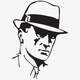 Man with a hat clipart picture royalty free library Clipart - Man With Hat Silhouette , Transparent Cartoon, Free ... picture royalty free library