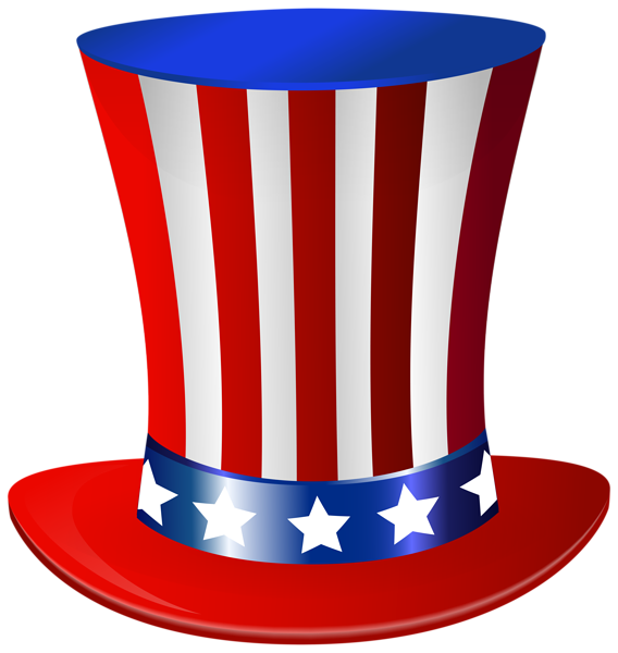 Red white and blue cross clipart graphic transparent library Uncle Sam Hat PNG Clip Art Image | everything red white & blue ... graphic transparent library