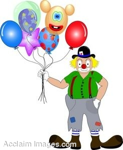 Man with big feet clipart svg free download Clip Art Image of a Clown With Big Feet and Balloons svg free download