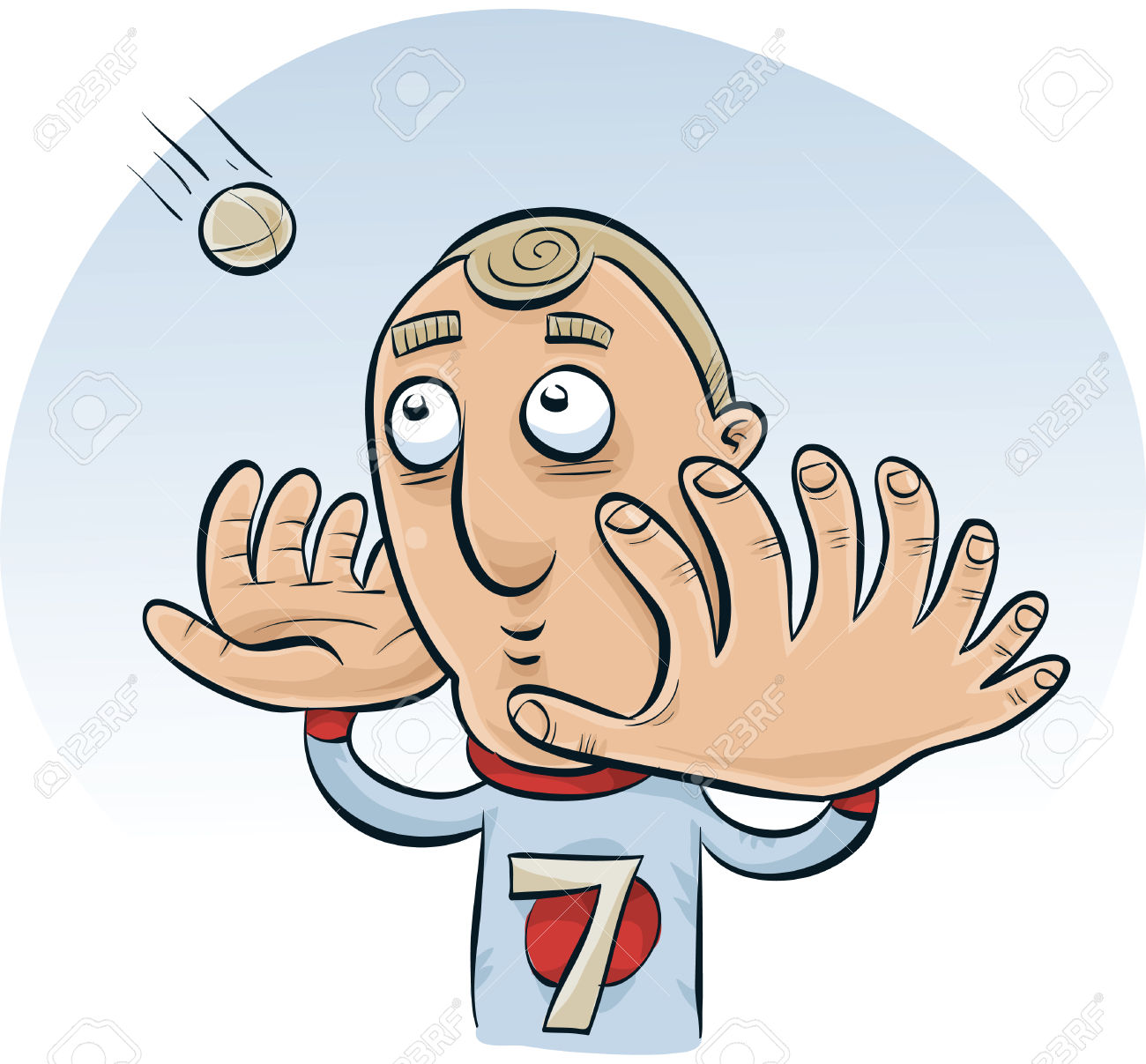 Man with big hand clipart graphic black and white A Cartoon Man With Big Hands With Many Fingers Trying To Catch ... graphic black and white