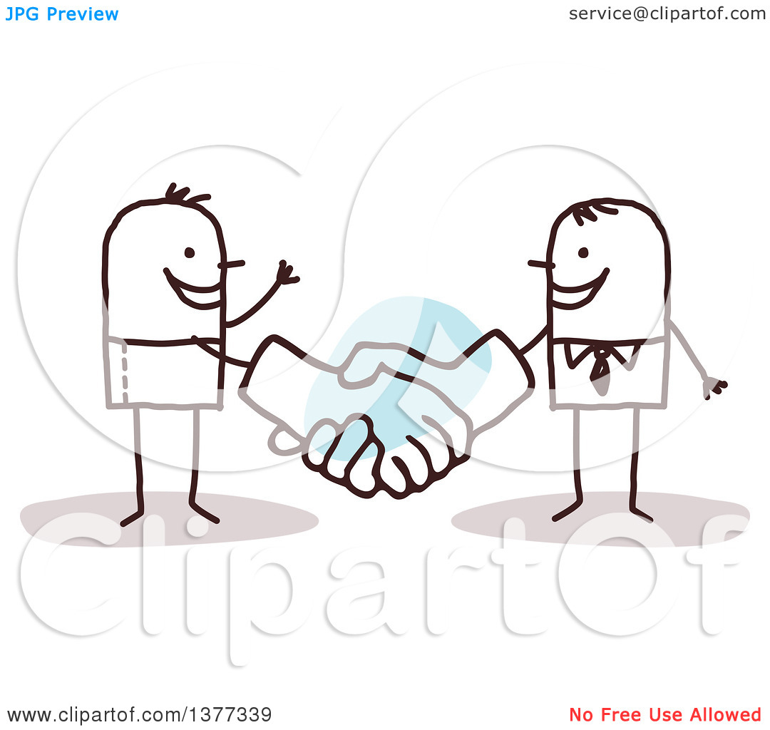 Man with big hand clipart clipart library library Clipart of a Stick Business Man Shaking Big Hands with a Client ... clipart library library