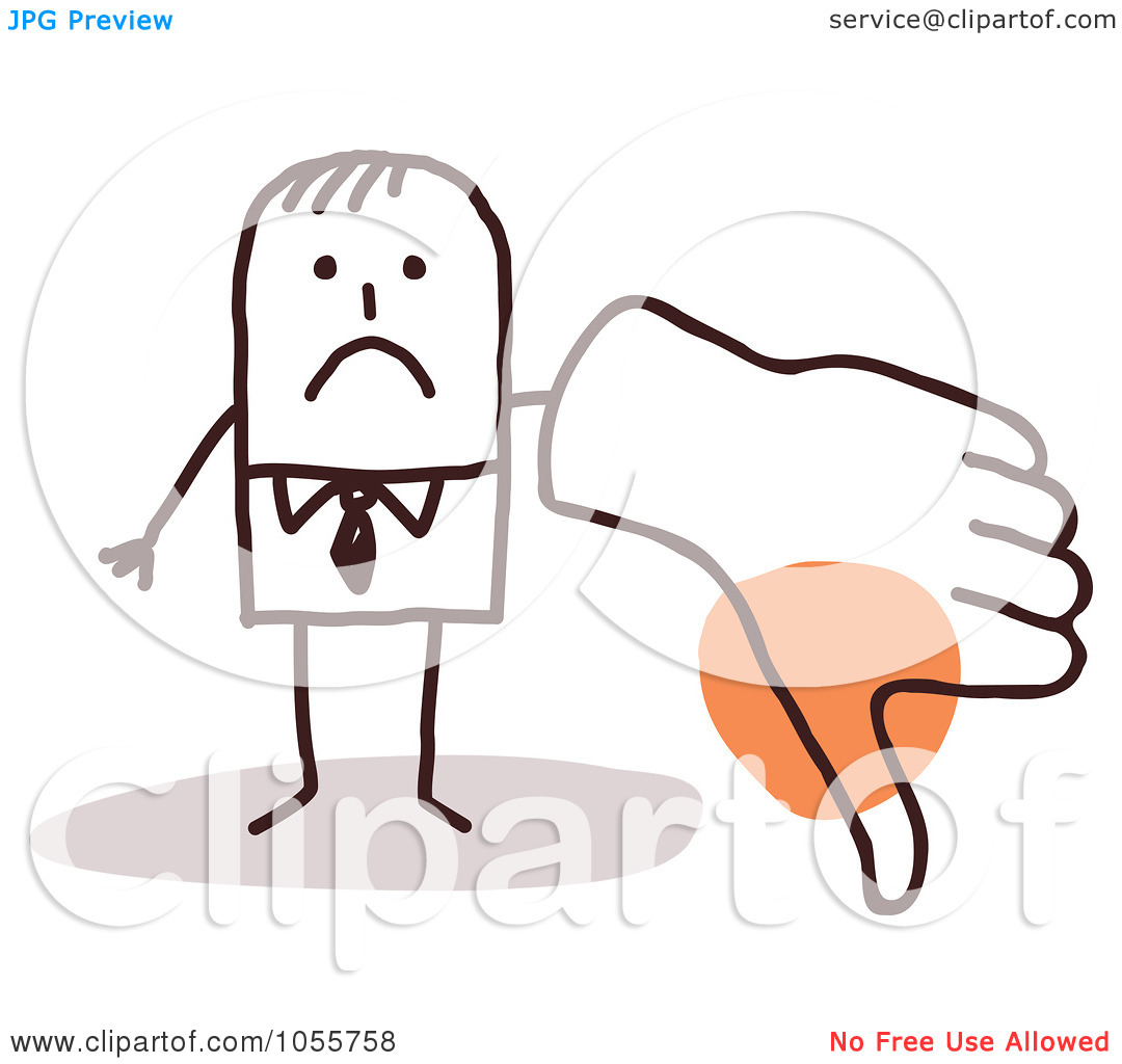 Man with big hand clipart clipart stock Royalty-Free Vector Clip Art Illustration of a Stick Man Giving A ... clipart stock