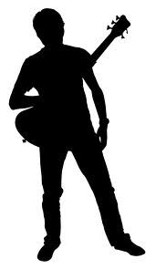 Man with guitar clipart picture transparent download Man with guitar   Misty water color memories   Silhouette ... picture transparent download