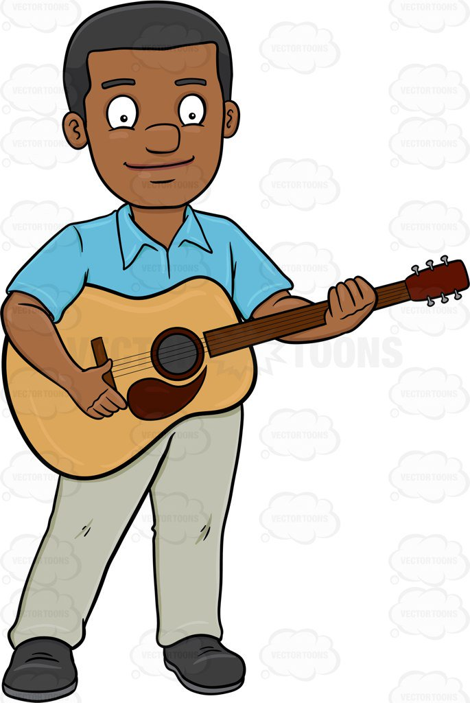 Man with guitar clipart svg royalty free library Free Guitar Clipart person, Download Free Clip Art on Owips.com svg royalty free library