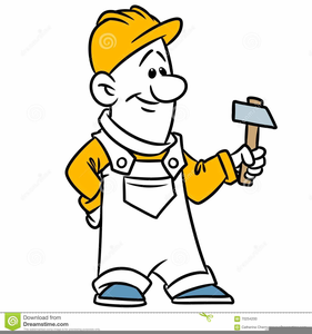 Man with hammer clipart vector freeuse stock Clipart Man With Hammer | Free Images at Clker.com - vector ... vector freeuse stock