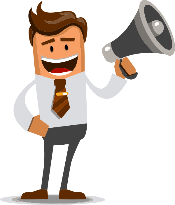 Man with megaphone free clipart freeuse download Person with megaphone clipart clipart images gallery for ... freeuse download