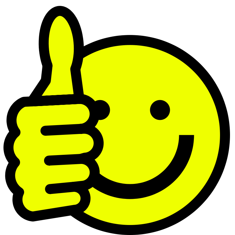 Man with thumbs up clipart clip transparent download Smiley Face Clip Art Thumbs Up | Clipart Panda - Free Clipart Images clip transparent download