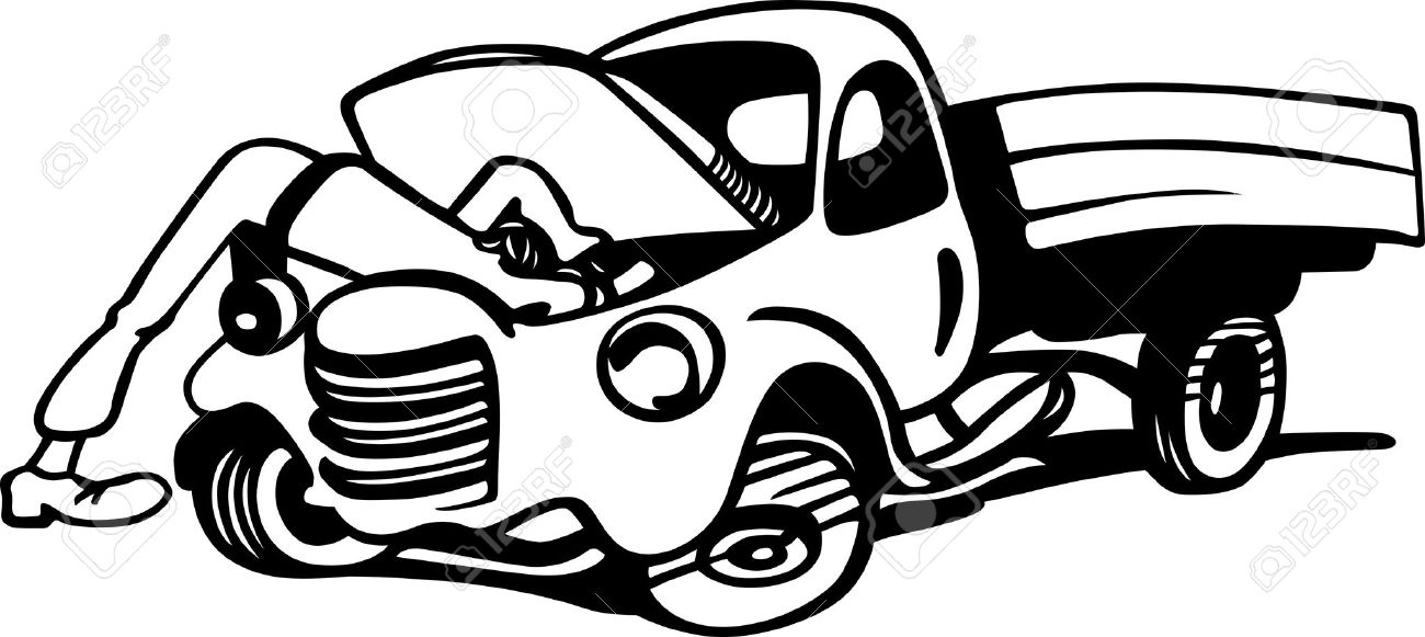 Man working under car black and white clipart graphic freeuse download Black Mechanic Cliparts   Free download best Black Mechanic ... graphic freeuse download