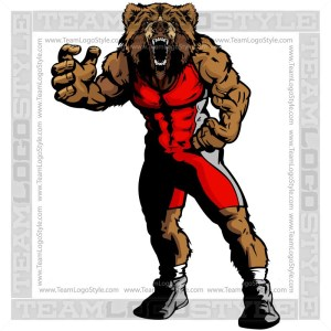 Man wrestling bear clipart clipart free library Wrestling Clipart Images Archives - Team Logo Style clipart free library