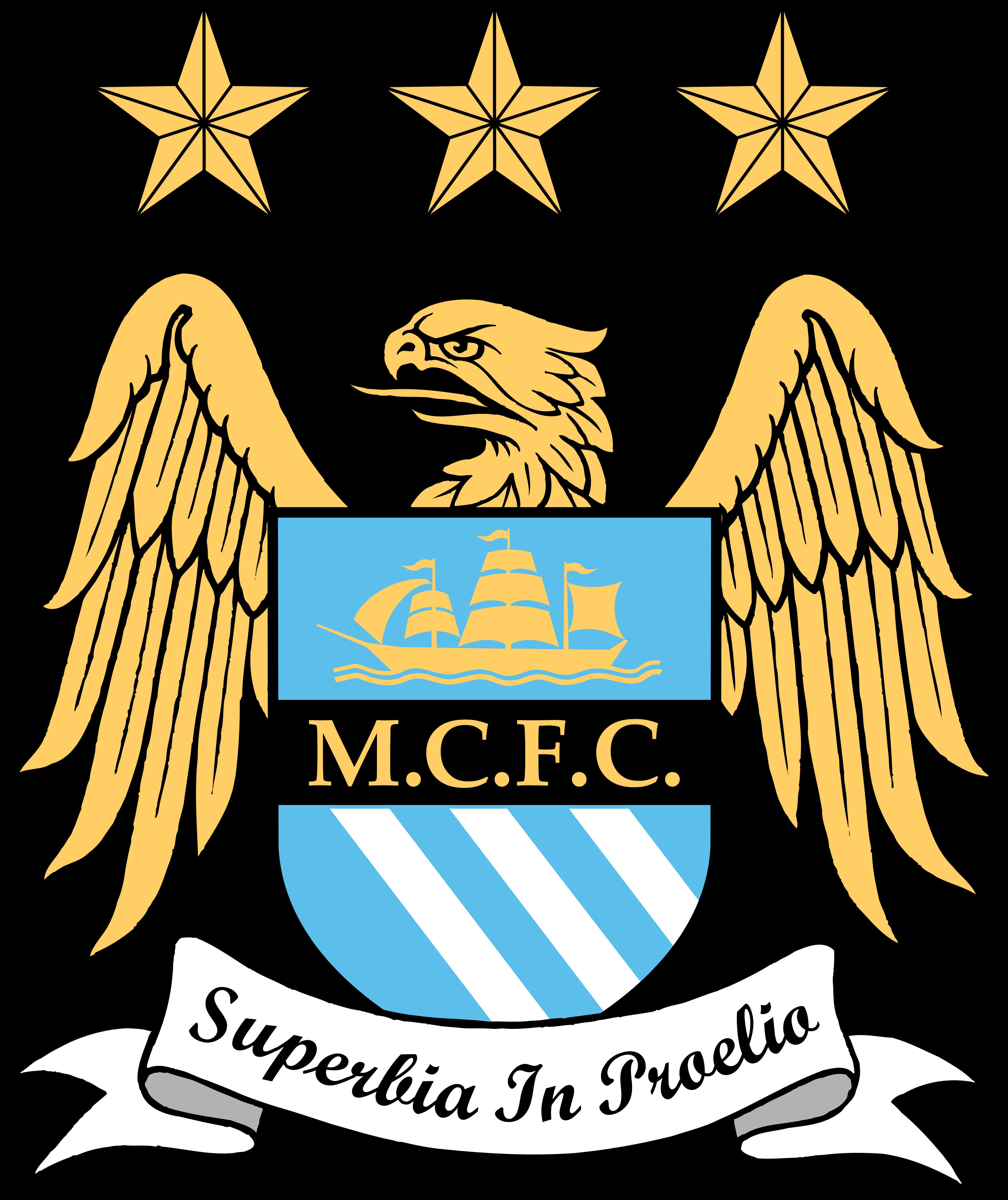 Manchester city new logo clipart jpg free stock Manchester City FC – Logos Download jpg free stock