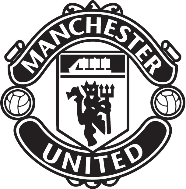 Manchester united logo clipart svg free library Download Free png manchester united logo black - DLPNG.com svg free library