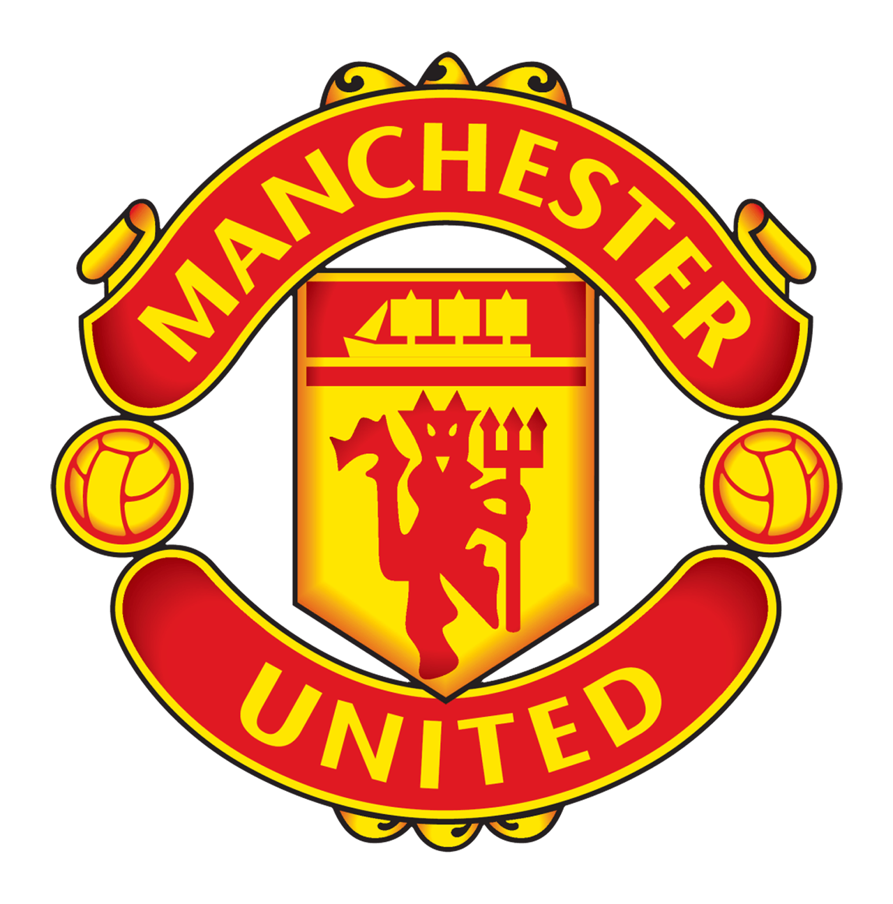 Library of manchester united logo clip black and white png ...