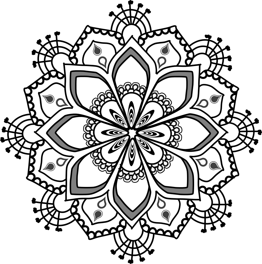 Mandala flower clipart picture royalty free library 19 Mandala clipart HUGE FREEBIE! Download for PowerPoint ... picture royalty free library