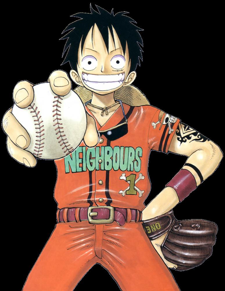 Manga baseball clipart png royalty free download One Piece (transparent) | Diana Salsa: Web & Print png royalty free download