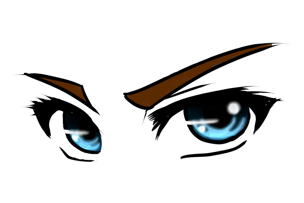 Manga baseball clipart image royalty free Anime Eyes Png #42324 - Free Icons and PNG Backgrounds image royalty free