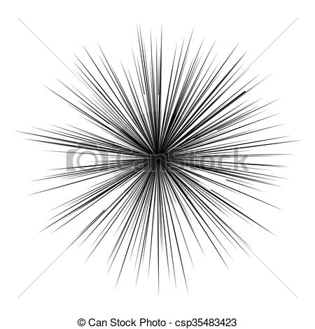 Manga book clipart transparent Vector Illustration of Manga comic book flash explosion radial ... transparent