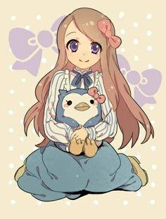 Manga girl sitting down clipart svg royalty free stock Image via We Heart It #anime #animegirl #bunny #cute #girl #kawaii ... svg royalty free stock