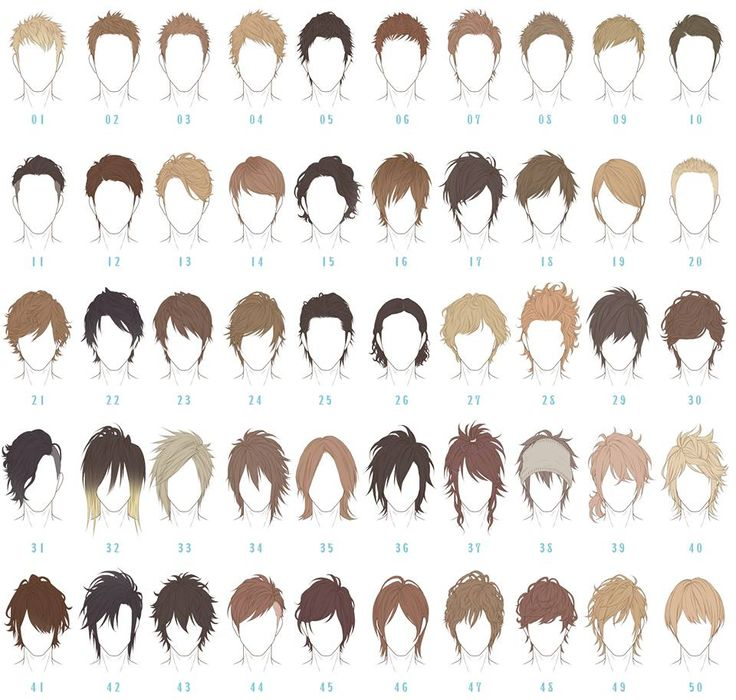 Manga hair clipart banner download 17 Best ideas about Anime Boy Hairstyles on Pinterest | Anime hair ... banner download