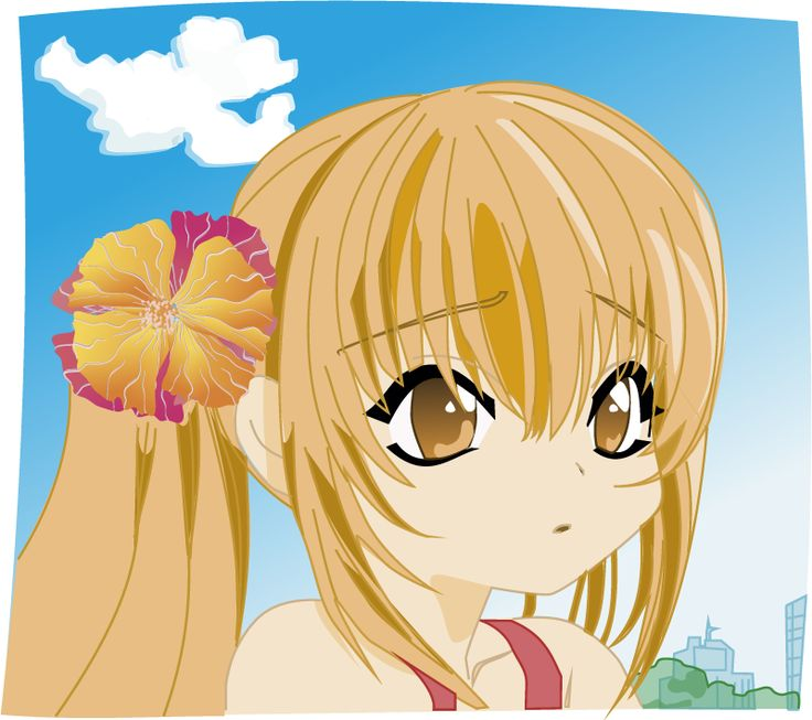 Manga hair clipart banner transparent library 17 Best images about Cómic y manga - vector on Pinterest | Manga ... banner transparent library