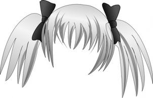 Manga hair clipart clip art library download Manga hair clipart - ClipartFest clip art library download