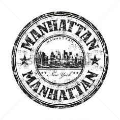 Manhattan project clipart jpg transparent stock 36 Best GRAPHICS: postage images in 2016 | Stamp, Travel stamp ... jpg transparent stock